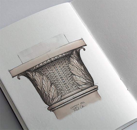 Grafton Hall Sketch