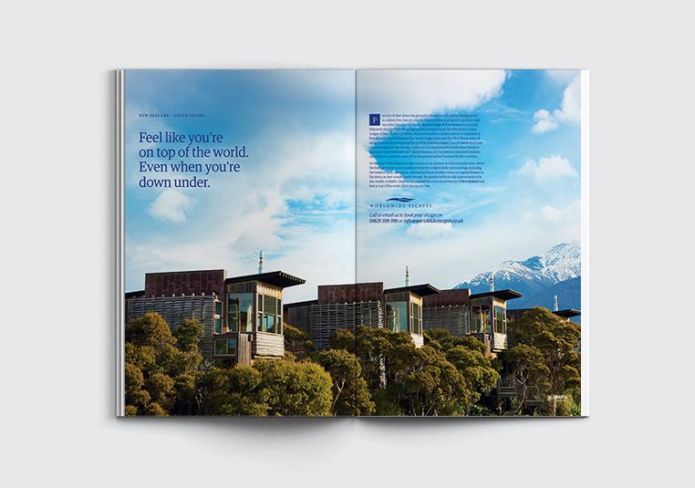 Worldwide Magazine Ad